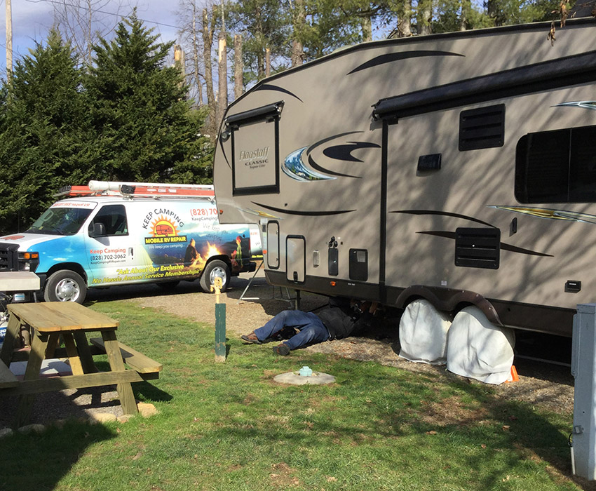RV Repair on-site