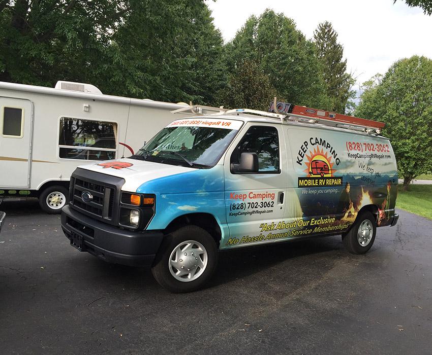 Mobile RV Repair Van