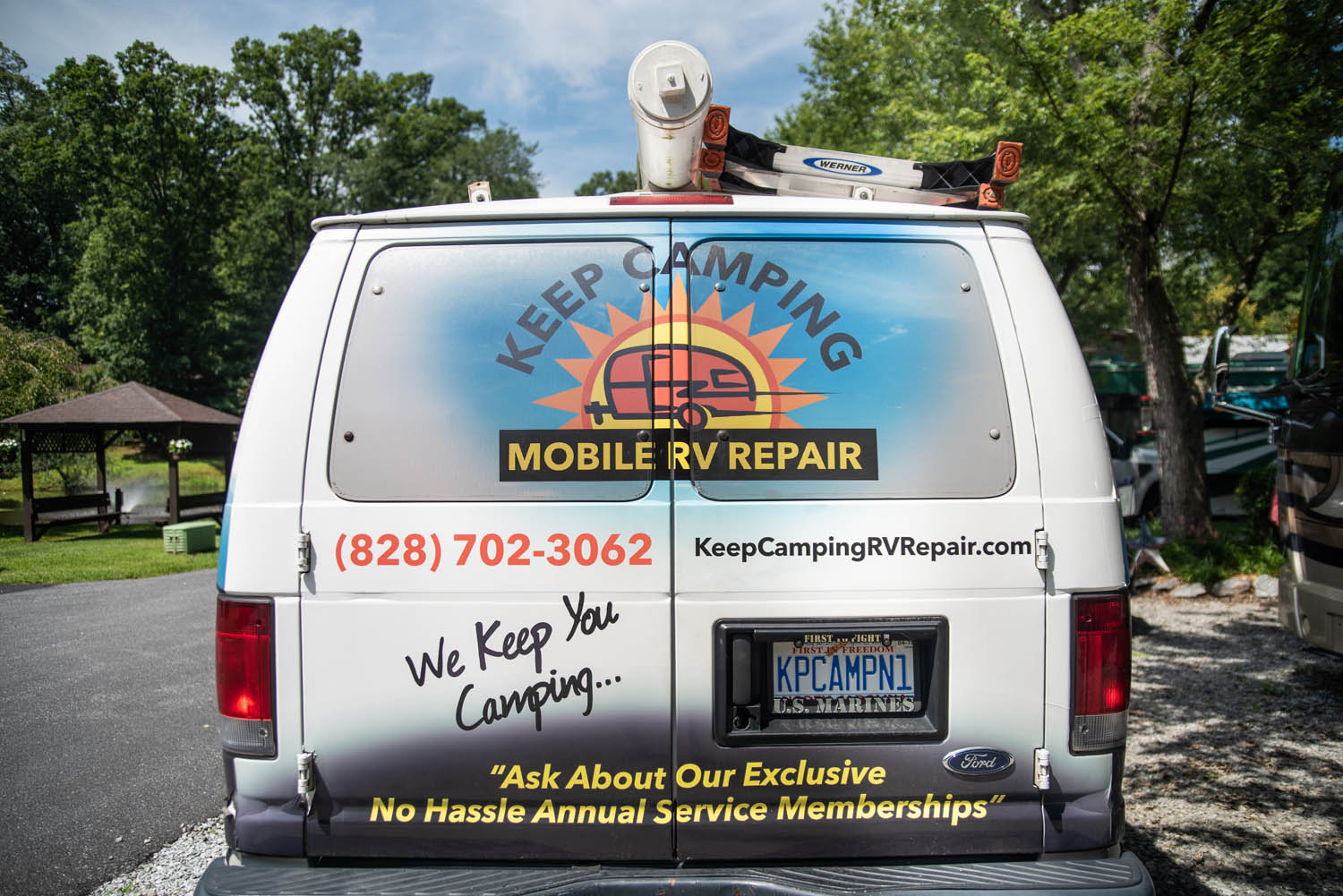 Mobile RV Repair Van